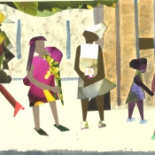 Women on City Street